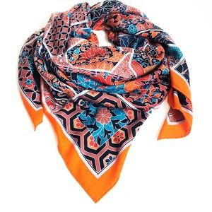 NWT cashmere/silk Hermes Imperiales scarf